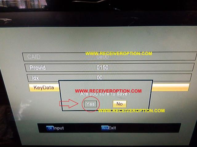 STARSAT 9800 HD RECEIVER POWERVU KEY OPTION