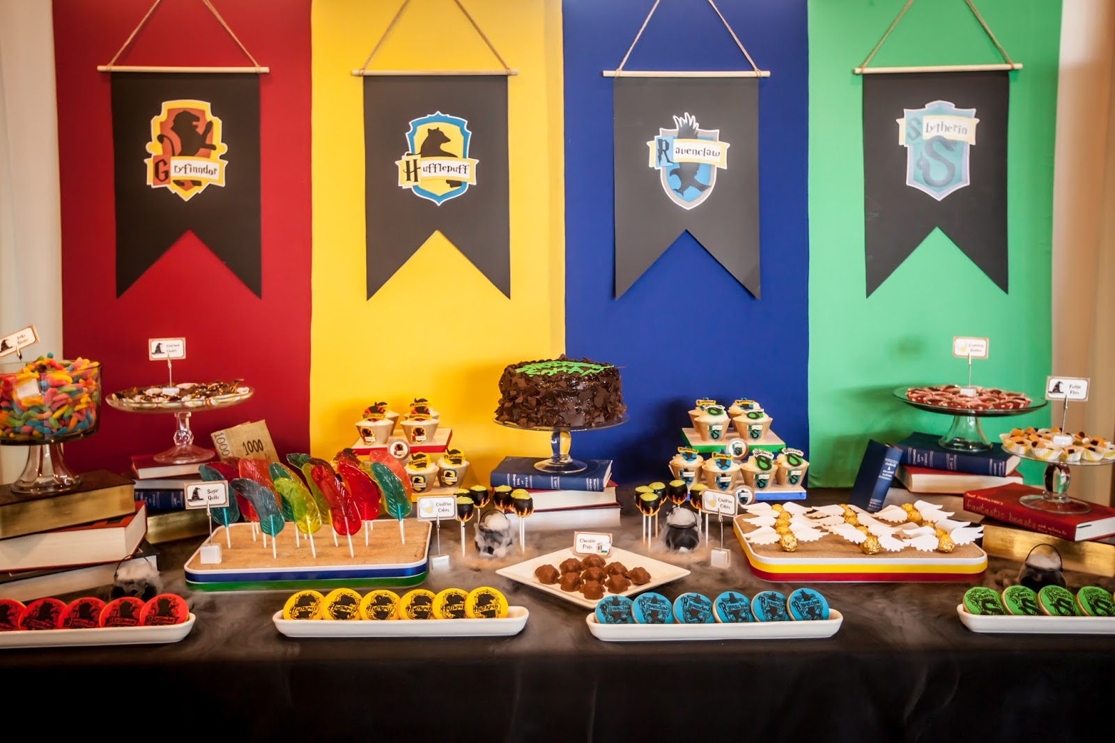 The Party Wall Harry Potter Inspired Party Part 1