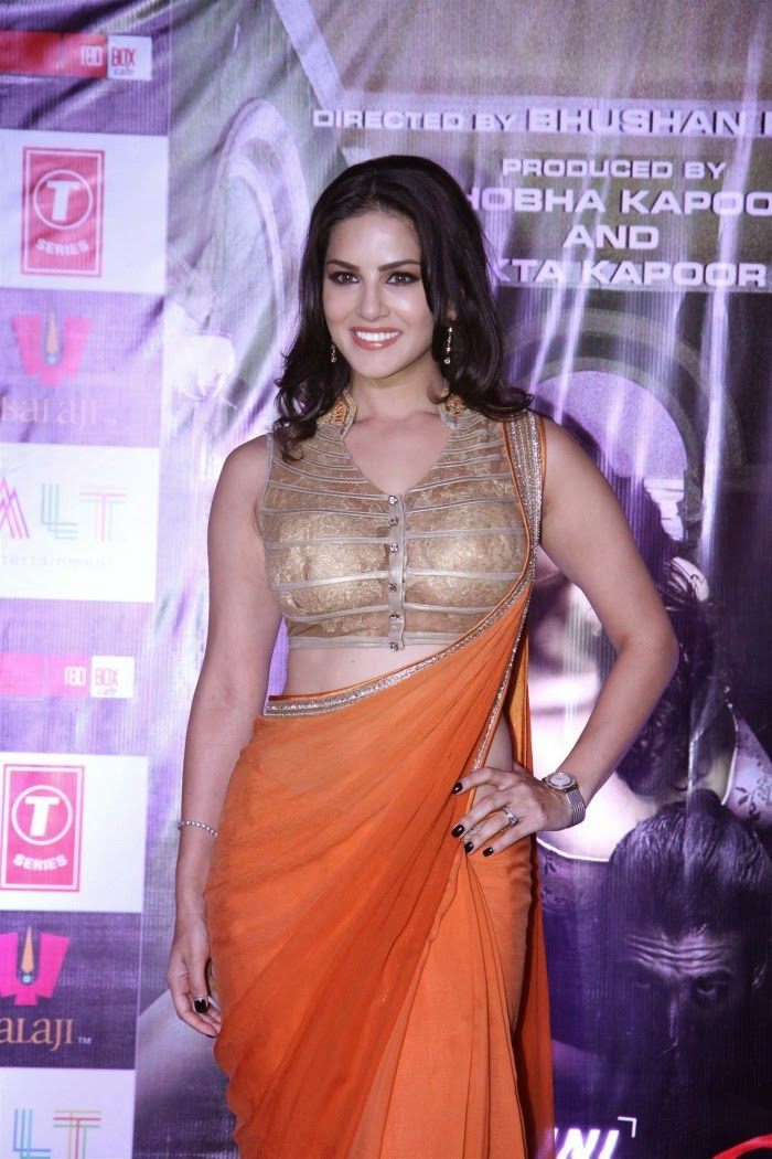 Sunny Leone Saree 2014 Latest New Hot Images Pics wallpapers and Movie Sills of Photo Shoot
