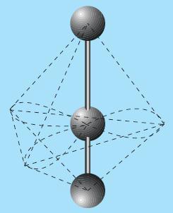 Bentuk molekul XeF2