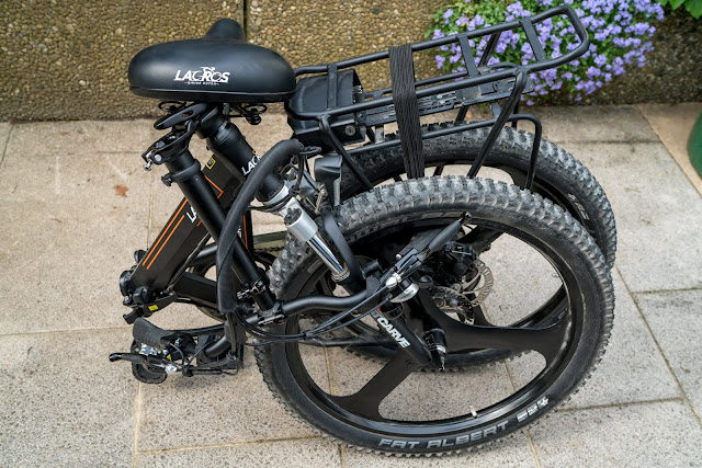 E-Mobilität für Minimalisten – Klapp-E-Bike Scamper S400 XL von Shinga Lacros | Falt-E-Bike | Faltrad | Klapprad | Falt Pedelec | Elektro Faltrad | Elektrisches Fahrrad 12