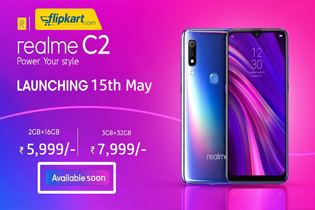 Buy RealMe C2 Exclusive Sell On Flipkart 15 May 2019