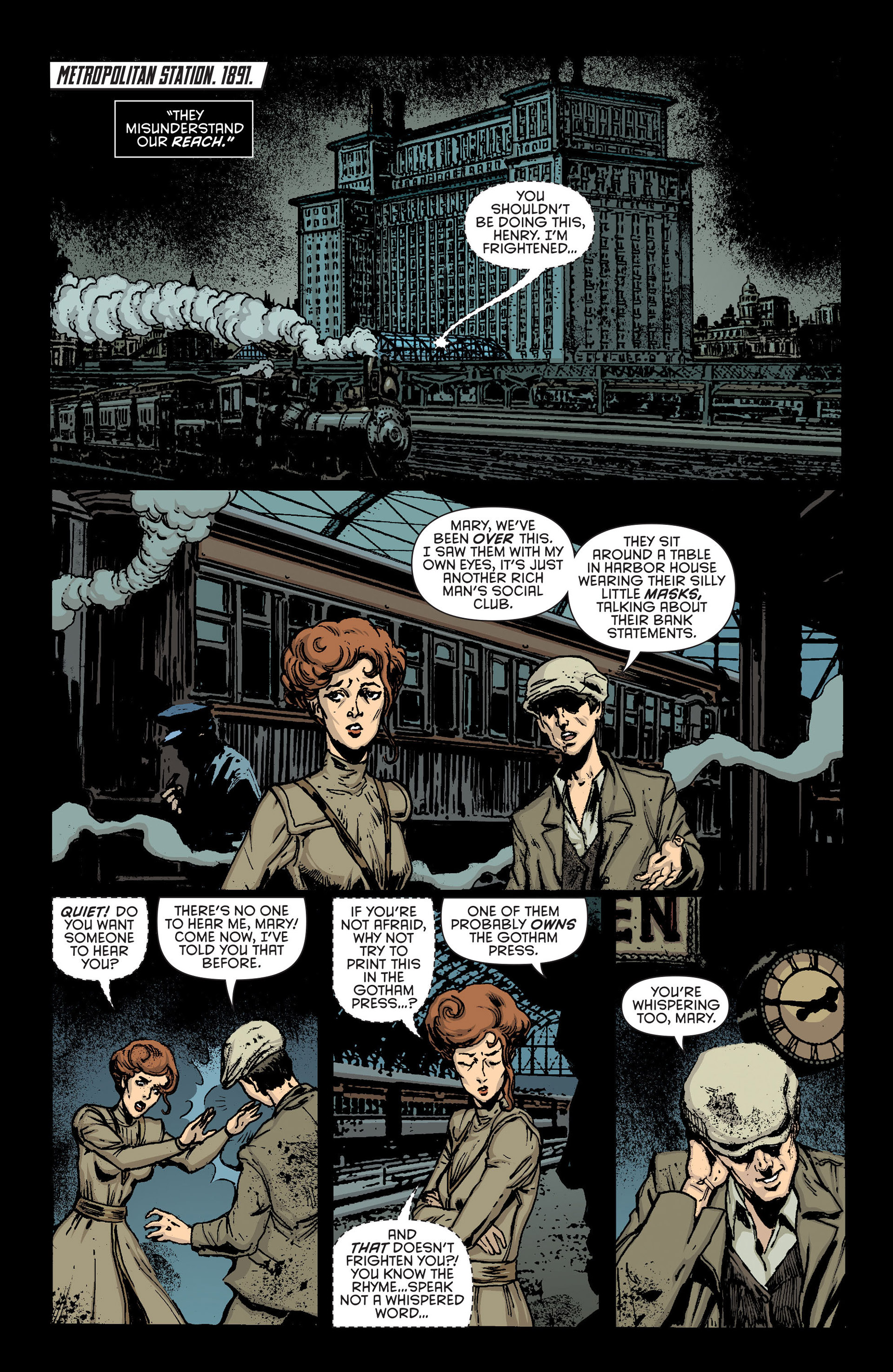 Read online Batman and Robin (2011) comic -  Issue #23.2 - 12