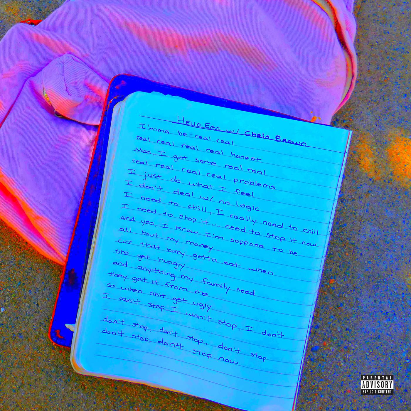 Jhené Aiko - Hello Ego (feat. Chris Brown) - Single Cover