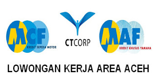 KARIR PT.MEGA AUTO CENTRAL FINANCE AREA ACEH - NOVEMBER 2016