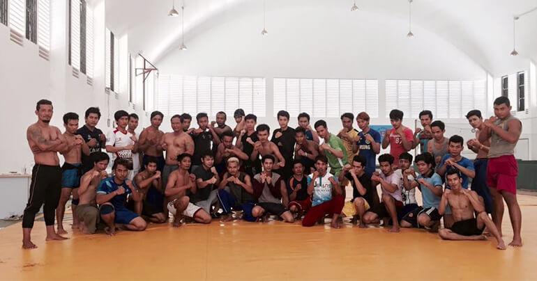 Cambodian Stunt Team