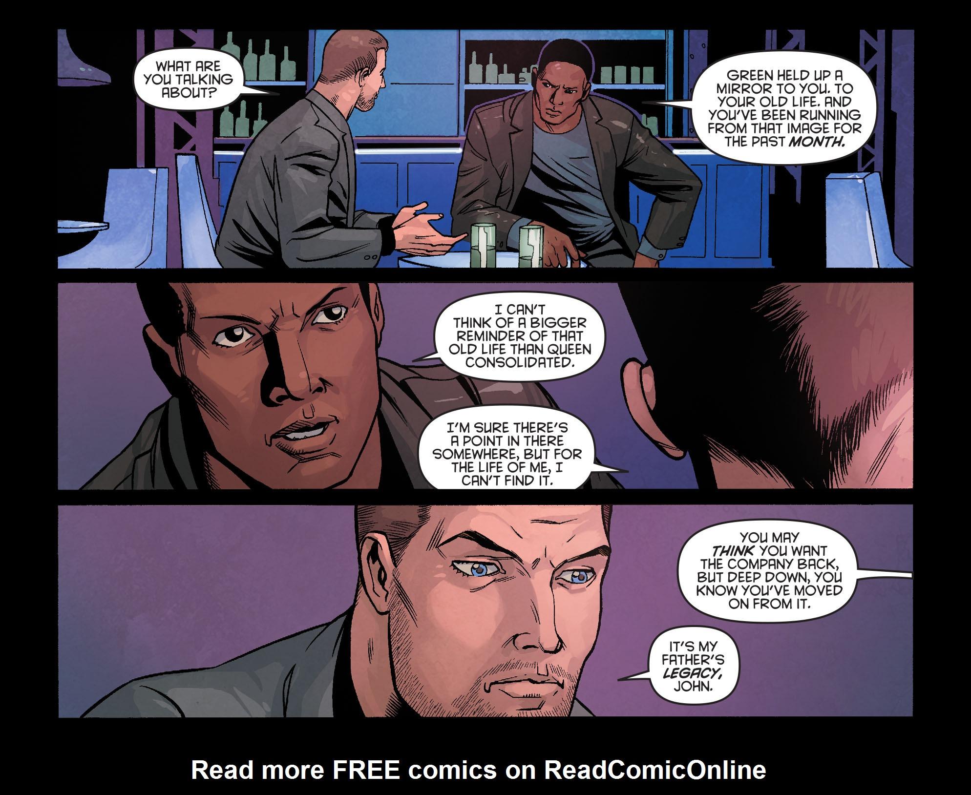 Read online Arrow: Season 2.5 [I] comic -  Issue #24 - 15