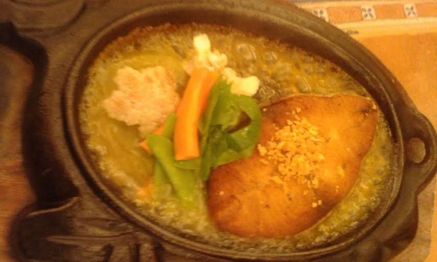 Sizzling tuna belly at Buddy's Restaurant