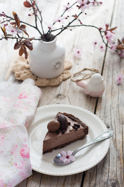 Tarte au chocolat au Baileys (recette express et sans cuisson)