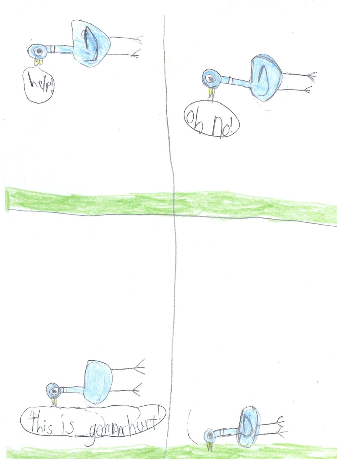 Mo Willems Doodles March 2013