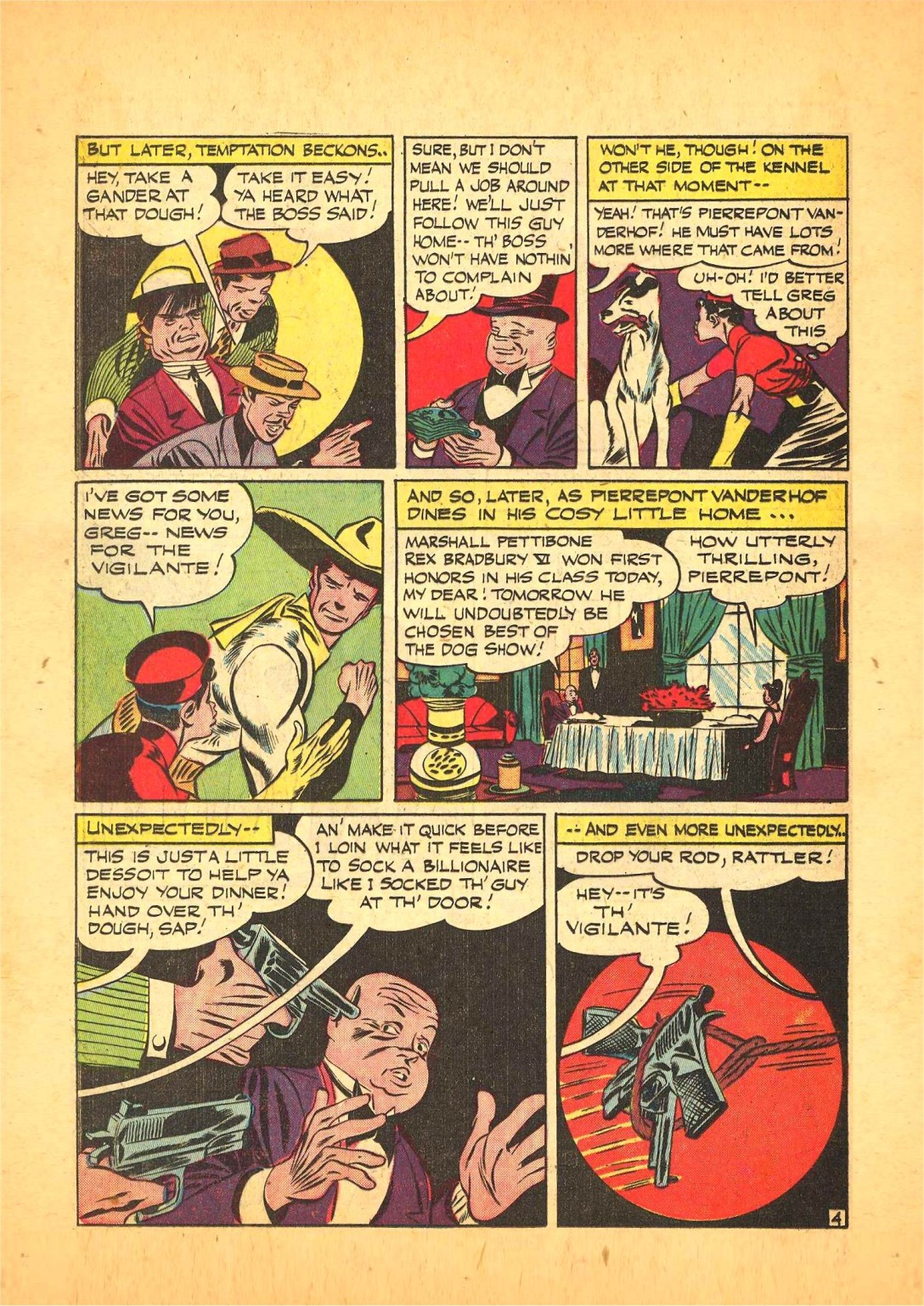 Read online Action Comics (1938) comic -  Issue #68 - 19