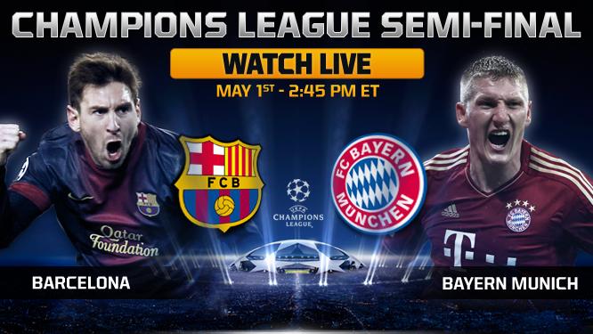 Football Highlight Barcelona Vs Bayern Munich Football Highlight 01 05 2013 Champions League Final Stage 2013