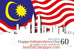 HAPPY 60TH BIRTHDAY MALAYSIA