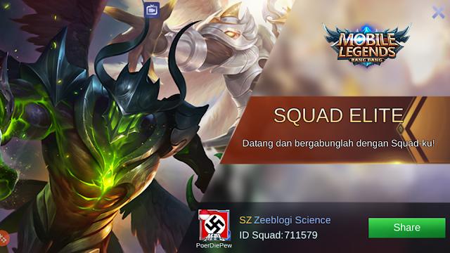Cara Membuat Squad Mobile Legends Sendiri 11