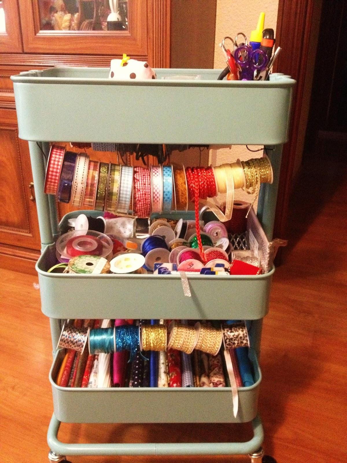 Chuchespops ideas para organizar tus manualidades con - Cosas de ikea ...