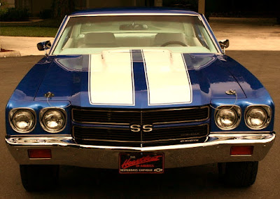 1970 Chevrolet Chevelle Malibu SS Muscle Car Coupe Front