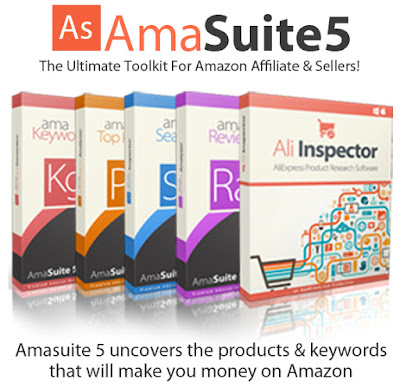 [VIP] AmaSuite 5 [Uncovers The Products & Keywords That Will Make You Money On Amazon]