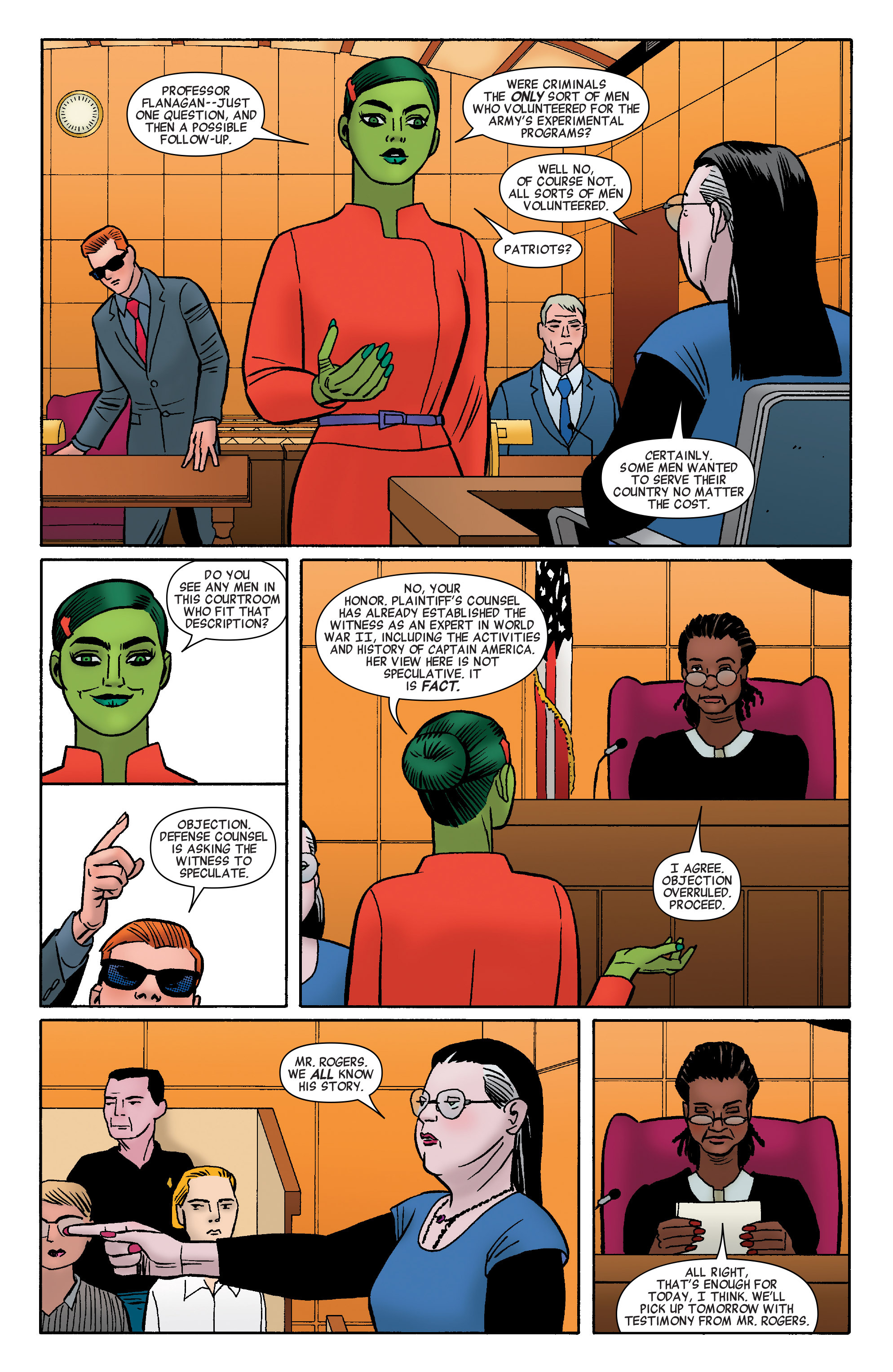 Read online She-Hulk (2014) comic -  Issue #9 - 10