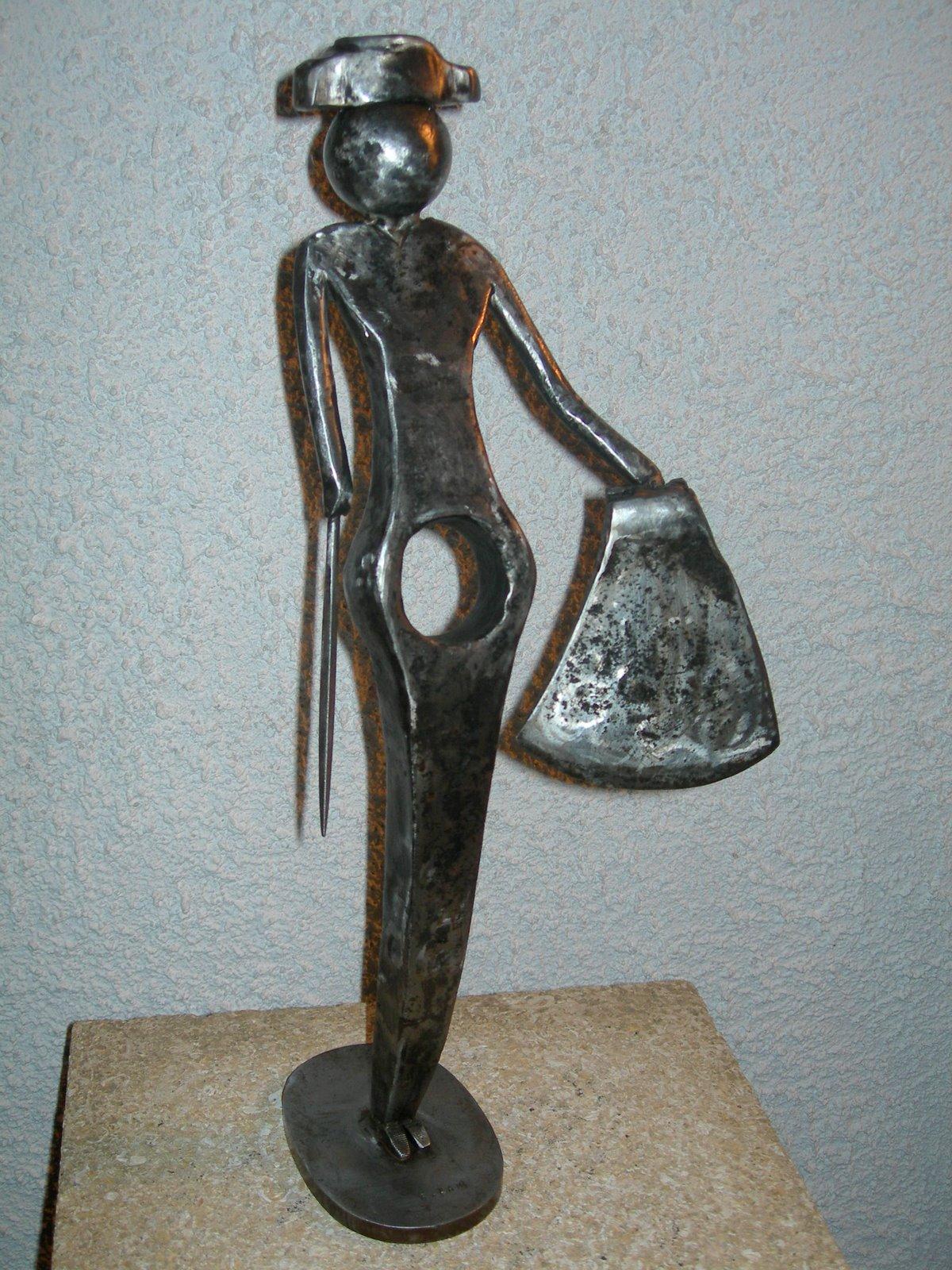 Gerard lami sculpteur createur le torero
