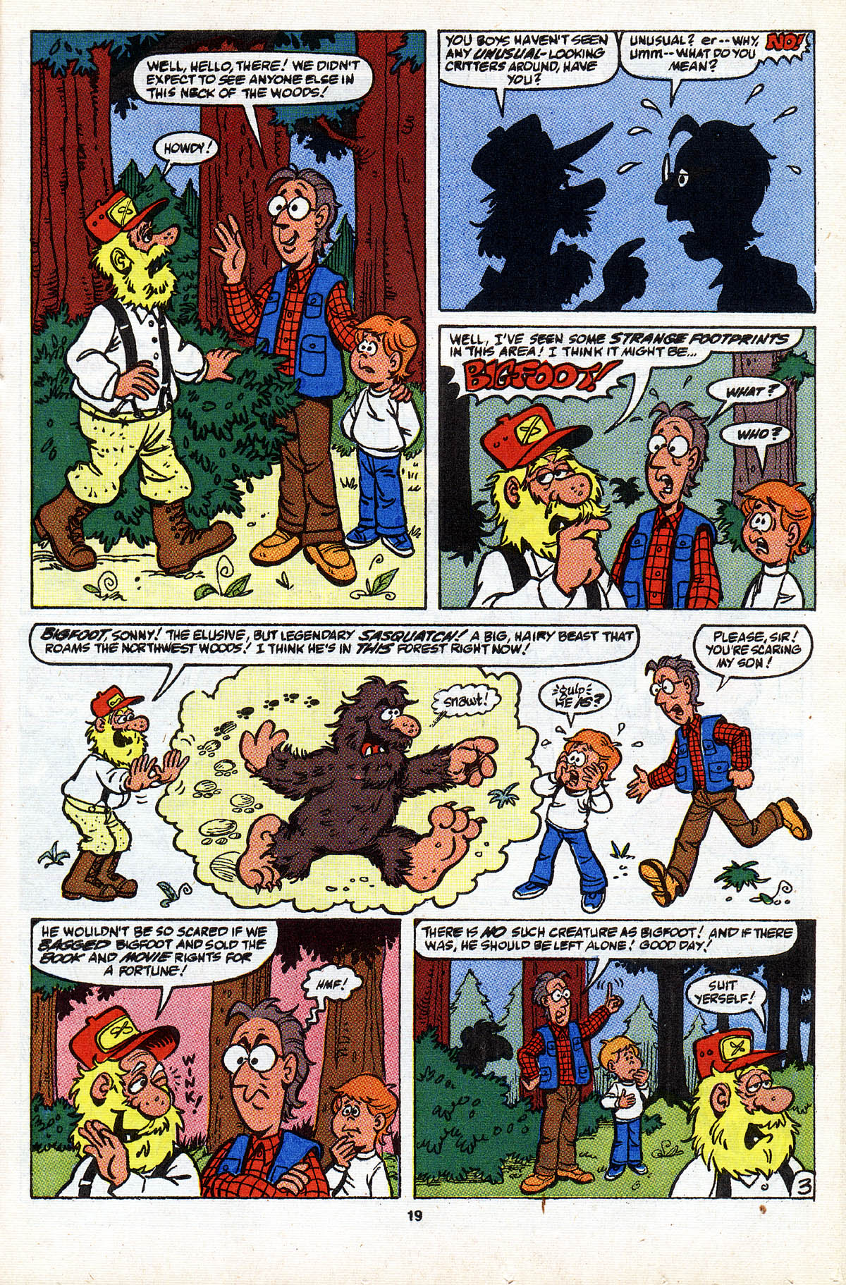 Read online ALF comic -  Issue #28 - 21