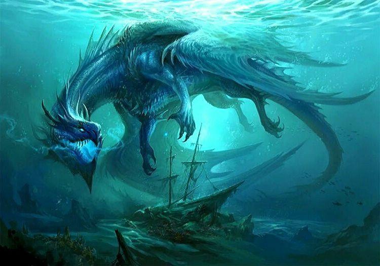 Deniz ejderhası eski bir Japon efsanesidir, pek çok yaşlı Japon hala bu efsaneye inanmaktadır.