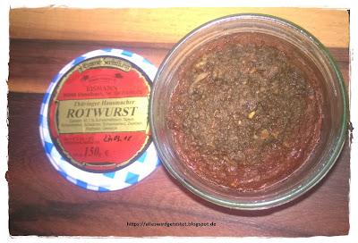 Rotwurst im Glas
