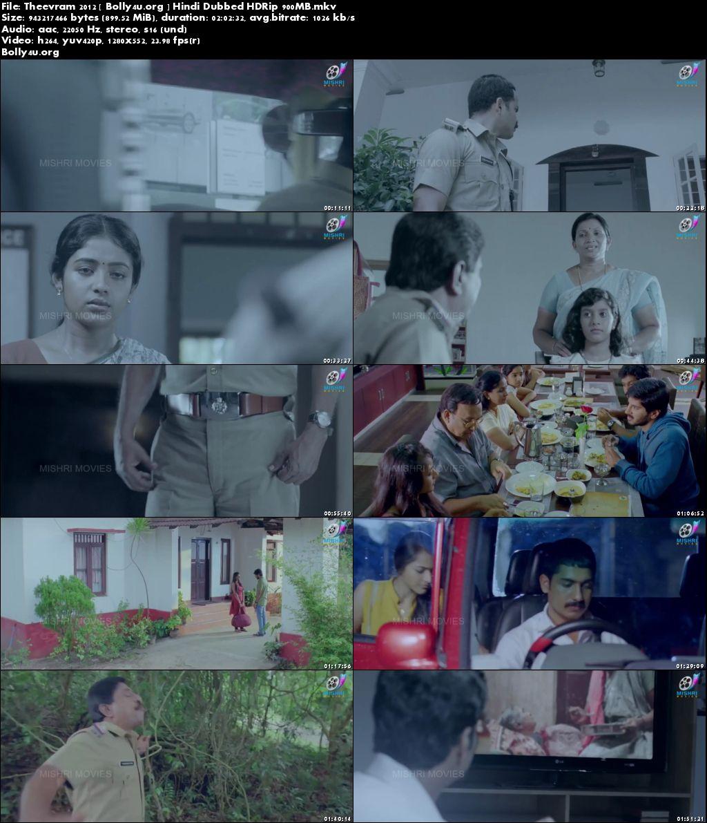 Theevram 2012 HDRip 350MB Full Hindi Dubbed Movie Download 480p