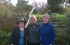 With Ruth Downie and Alison Morton