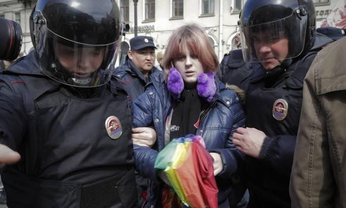39% dos russos acham que estrageiros gays serão atacados durante a Copa do Mundo