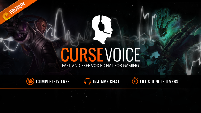Bring The Noise Gaming: Gaming Software Review: Curse Voice