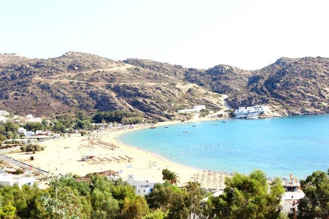 Mylopotas beach,Ios island,Greece