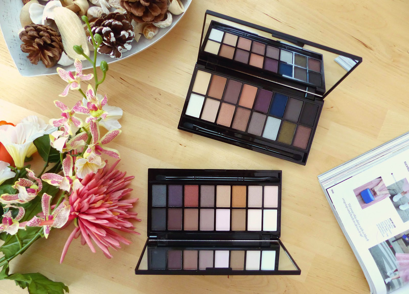Makeup Revolution Iconic Pro 1 2 Palettes Review Swatches
