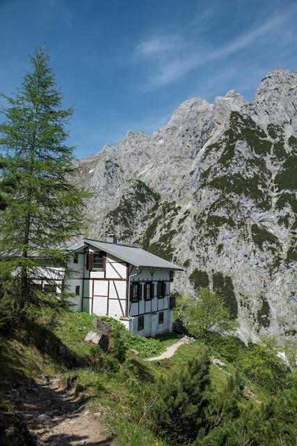Höllentalklamm und Hupfleitenjoch  Wanderung Garmisch-Partenkirchen 07