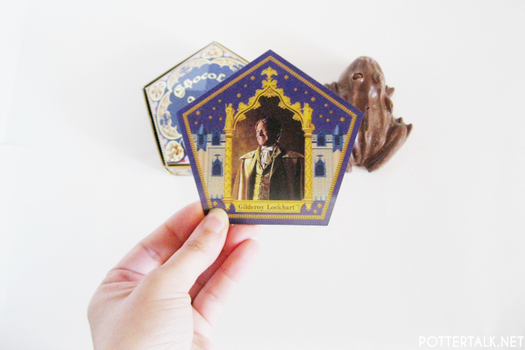 Harry Potter Chocolate Frog Card Gilderoy