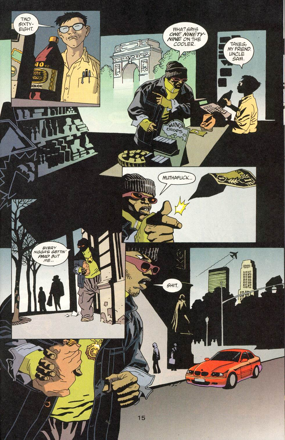 Read online 100 Bullets comic -  Issue #20 - 17