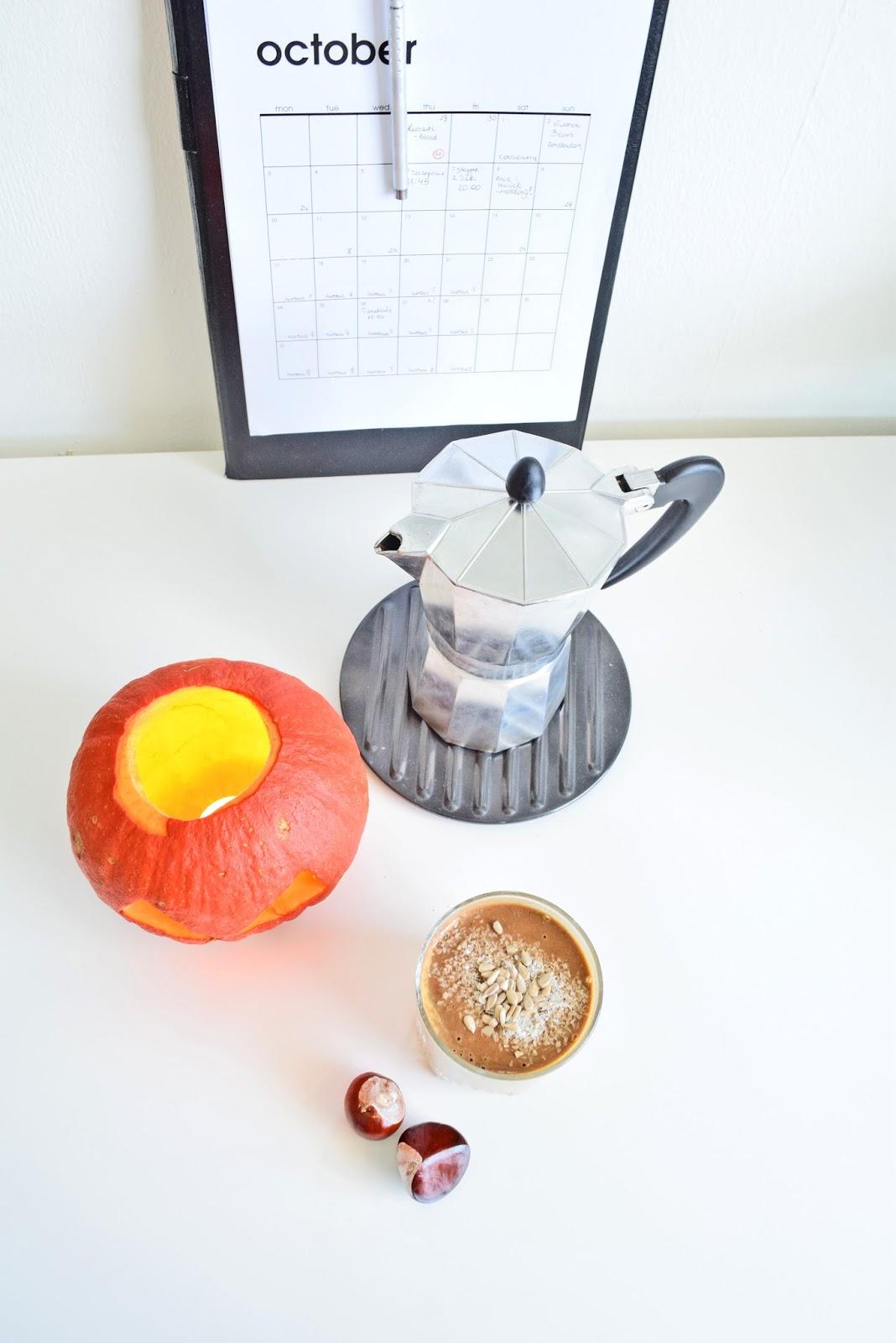 dyniowo kawowe latte