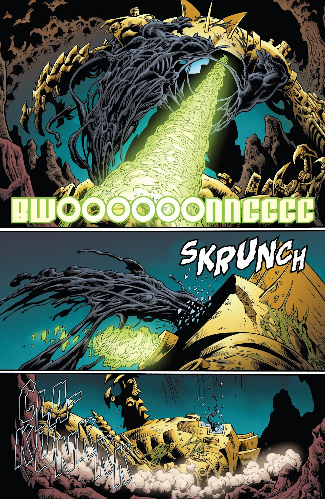 Read online Web of Venom: Unleashed comic -  Issue # Full - 17