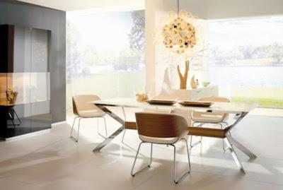 Foto Desain Ruang Makan Minimalis Elegan