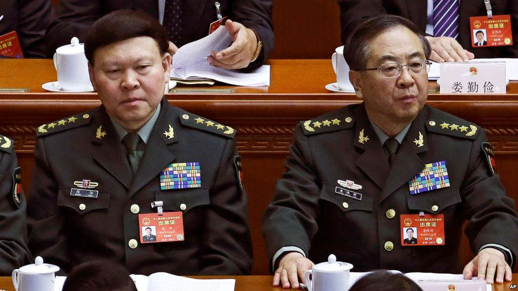 LATEST NEWS: Top Chinese general who was being investigated for corruption commits suicide