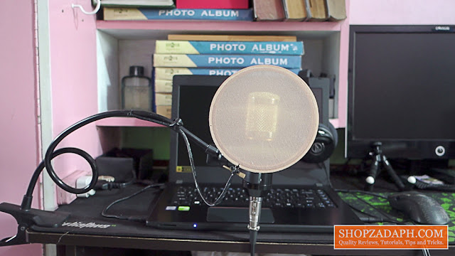 pop filter alternative
