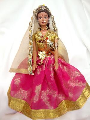 Foto Boneka Barbie Cantik dari India