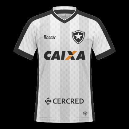 GT Camisas  Camisas Botafogo 2017   2018 - Home 6601fa9f8ad98