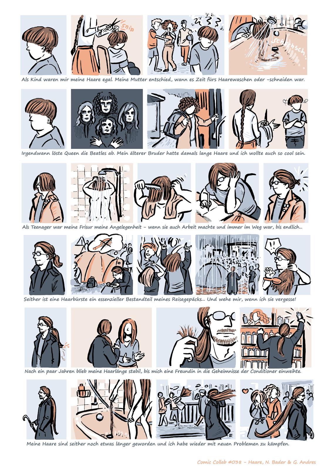Skizzenblog Bader Comic Collab 038 Haare