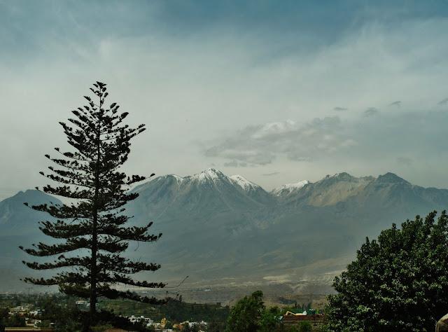 Vulcão Chacani, em Arequipa no Peru