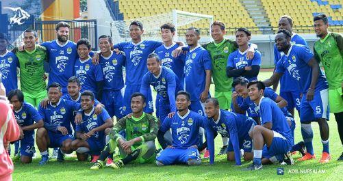 Persib Bandung vs Maung Ngora 2-0 Uji Coba di Si Jalak Harupat