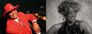 Concierto de Keny Wayne & Jose Luis Pardo Band y Trudy Lynn en Clamores jazz