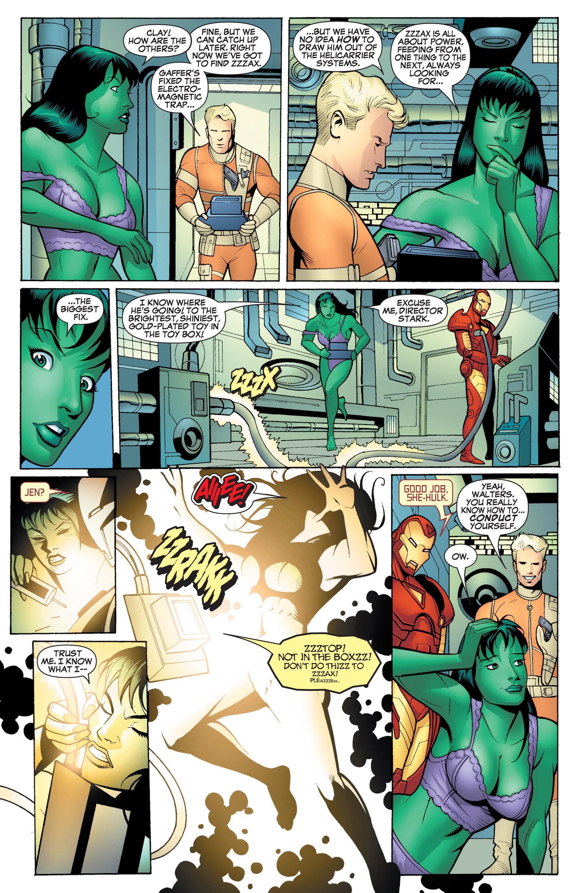 Read online She-Hulk (2005) comic -  Issue #17 - 20