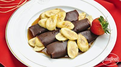 كريب الشوكولاتة - مطبخ فتافيت
