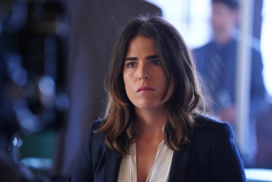Fotografía de Karla Souza, que interpreta a Laurel, en 'How to Get Away with Murder'