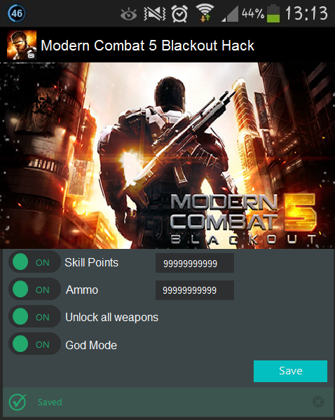 Modern Combat 5 Hack New Update 2015